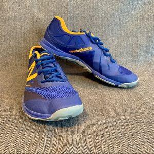 New Balance Minimus X Trainer Sneaker Blue 10.5